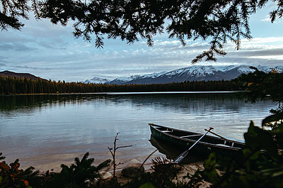 Lake Annette - p1455m2092345 by Ingmar Wein