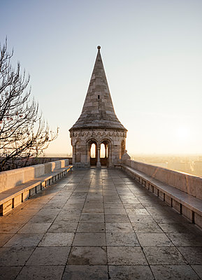 Fisherman's Bastion, Budapest, Hungary, Europe - p871m1167818 by Ben Pipe