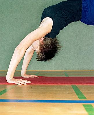 Gymnastikübung - p7810032 von Angela Franke