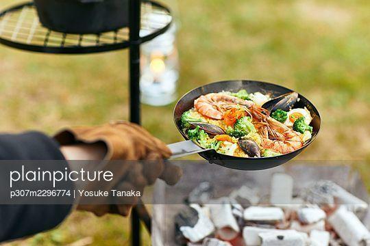 Camping - p307m2296774 by Yosuke Tanaka