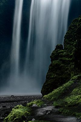 Skogafoss Waterfall - p1280m1222457 by Dave Wall
