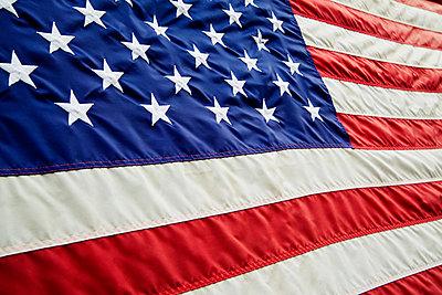 Amerikanische Fahne - p3300511 von Harald Braun