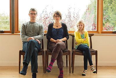 Familienportrait - p635m858516 von Julia Kuskin
