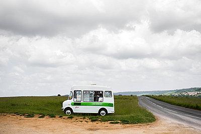 Eiswagen - p1057m916046 von Stephen Shepherd