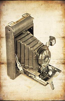 Vintage Camera - p1390m1460992 by Svetlana Sewell