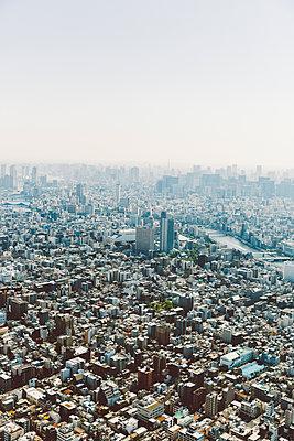 Blick auf Tokio von oben - p432m2116061 von mia takahara