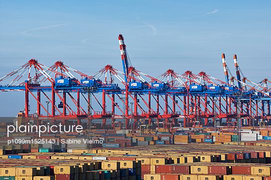 Containerterminal Bremerhaven - p1099m1525143 von Sabine Vielmo