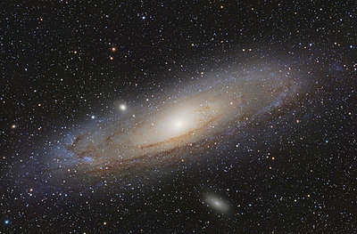 Astrophotography, Spiral galaxy Messier 31 or Andromeda Galaxy - p300m2023892 by Thomas Grohmann
