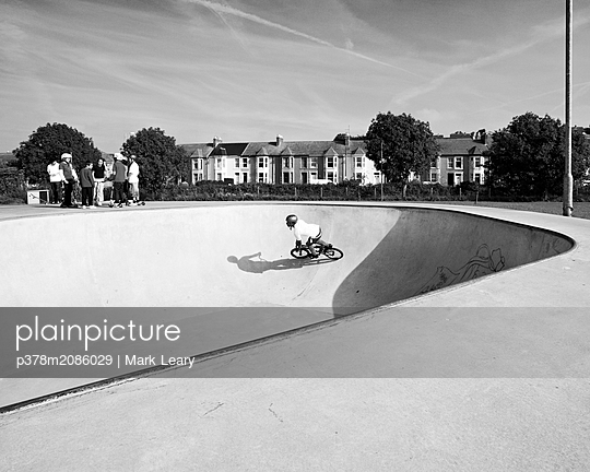BMX Rider - p378m2086029 by Mark Leary