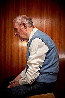 Alter Mann  - p1092m1108886 von Rolf Driesen