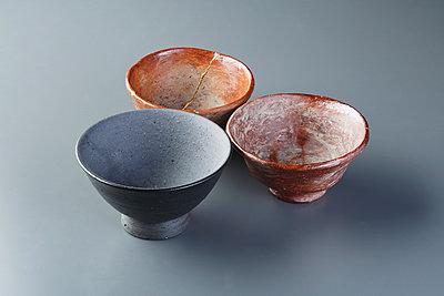 Japanese traditional pottery - p307m1106041f by Hideki Yoshihara