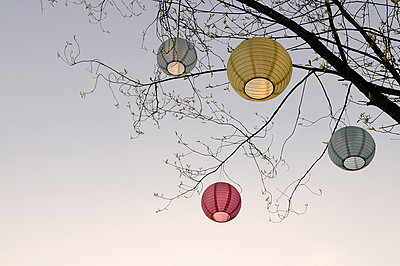 Lanterns - p4700162 by Ingrid Michel