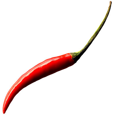 Red pepper close-up - p1353m1201774 by Federico Naef