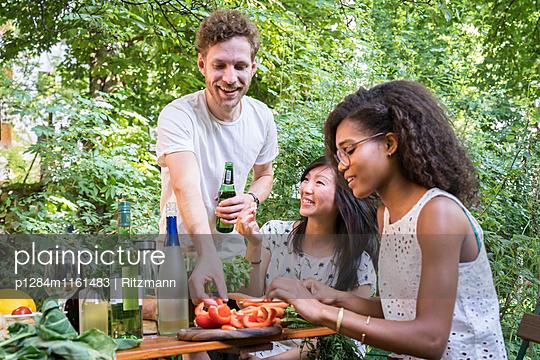 BBQ-Party - p1284m1161483 von Ritzmann
