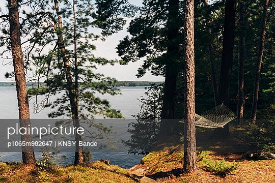 Hammock at Chandos Lake - p1065m982647 by KNSY Bande