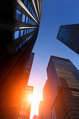 Financial District - p1280m1091591 by Dave Wall