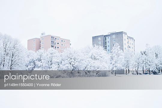 Skyscrapers in winter - p1149m1550400 by Yvonne Röder