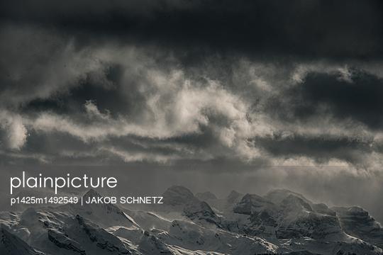 Berglandschaft Zentralschweiz - p1425m1492549 von JAKOB SCHNETZ