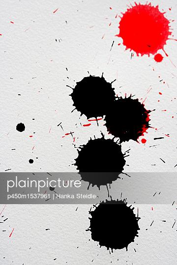 Tintenkleckse   - p450m1537961 von Hanka Steidle