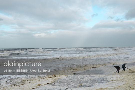 Strandleben - p1164m1585989 von Uwe Schinkel
