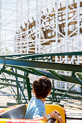 Roller Coaster Ride - p535m1556605 by Michelle Gibson