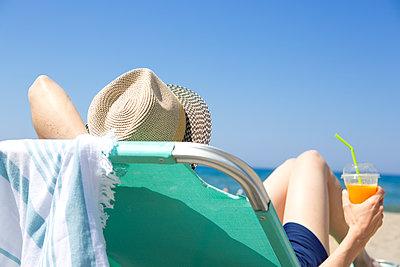 Perfekter Tag am Strand - p454m2007476 von Lubitz + Dorner
