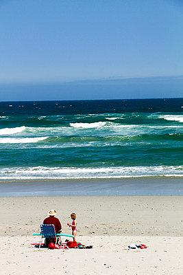 Ferien am Strand - p967m934804 von Wessel Wessels