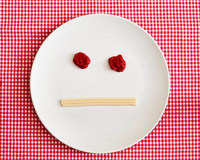 Spaghetti-Gesicht, Apathisch - p1078m900510 von Frauke Thielking