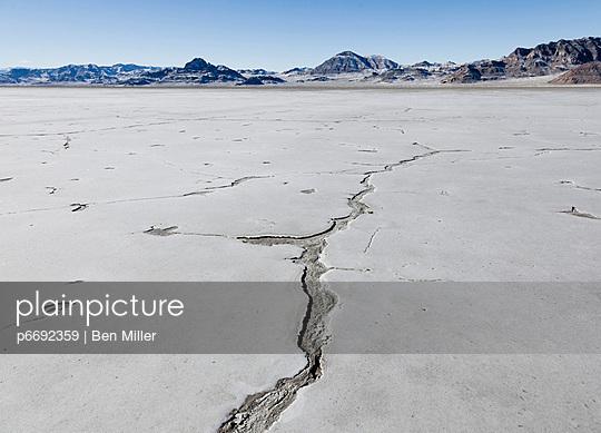 Bonneville Salt Flats - p6692359 by Ben Miller