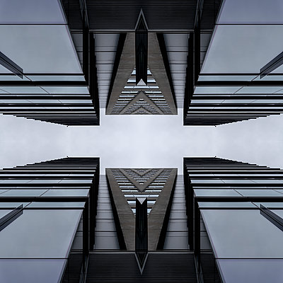 Abstract Architecture Kaleidoscope Boston - p401m2216007 by Frank Baquet