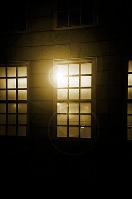 Light behind lattice windows - p975m2286085 by Hayden Verry