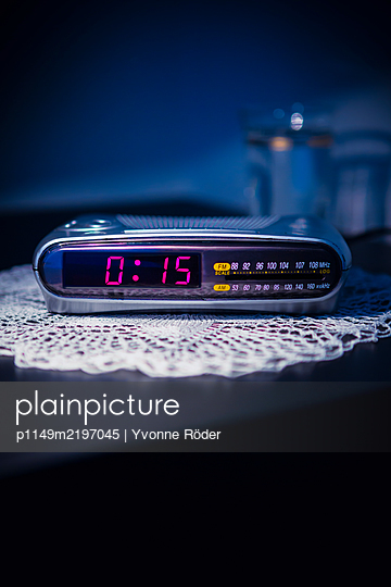 Clock radio - p1149m2197045 by Yvonne Röder