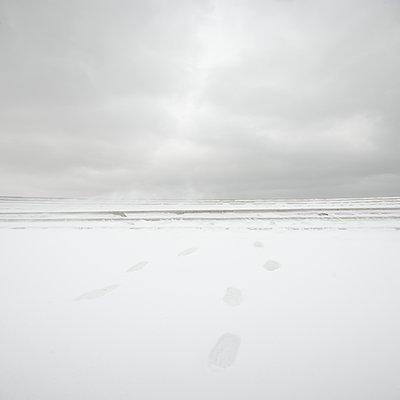Spuren ins Meer - p1137m1559138 von Yann Grancher