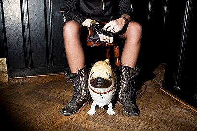 Pet dog - p930m814941 by Ignatio Bravo