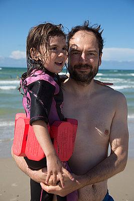 Am Strand - p295m2013529 von Nanine Renninger