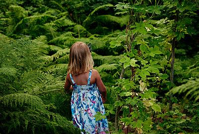 Mädchen im Wald - p972m1088659 von Felix Odell