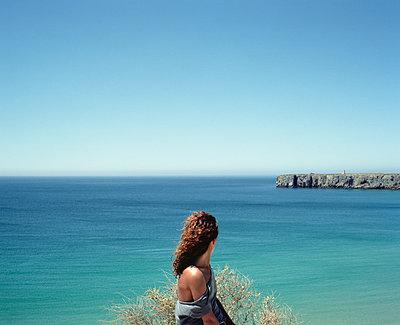 Portugal, Cape St. Vincent - p1083m990021 by Alain Greloud