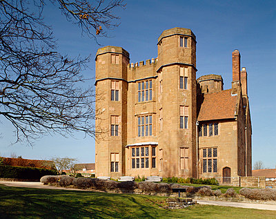 Kenilworth Castle. Leicester's gatehouse from the South East. - p8551756 by Nigel Corrie