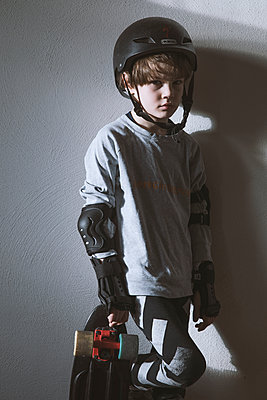 Skateboarder - p1338m1525574 von Birgit Kaulfuss