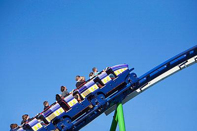 Rollercoaster at Oktoberfest, Munich, Germany - p6090388 by MONK photography