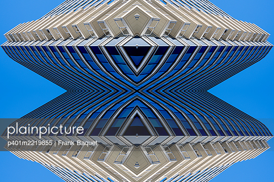 Abstract Architecture Kaleidoscope Boston - p401m2219855 by Frank Baquet