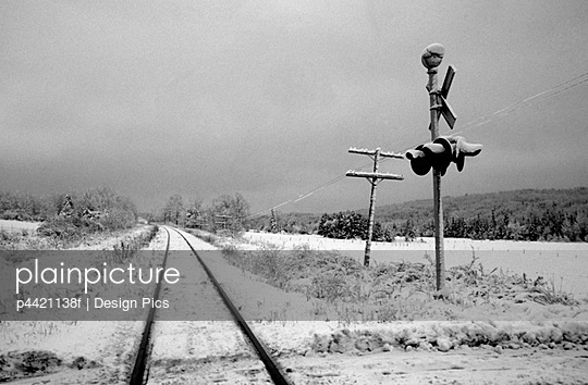 Railroad crossing - p4421138f by Design Pics