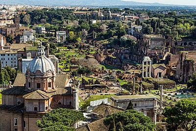 Italy, Rome, Forum Romanum - p300m981387f by EJW