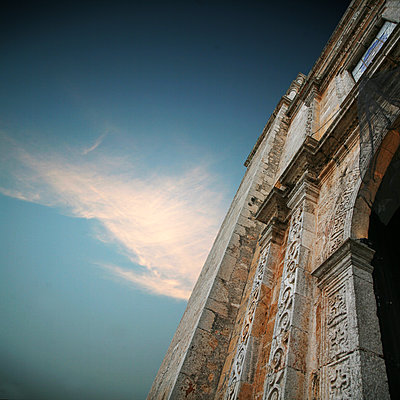Kathedrale Las Monjas in Morelia  - p375m1563897 von whatapicture