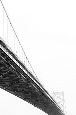 Benjamin Franklin Bridge - p1335m1171618 by Daniel Cullen