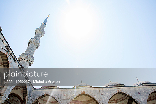 Blue Mosque - p535m1050087 by Michelle Gibson