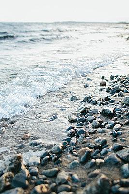 Beach - p312m1024832f by Anna Rostrom