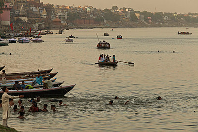 Varanasi; India - p910m763753 by Philippe Lesprit