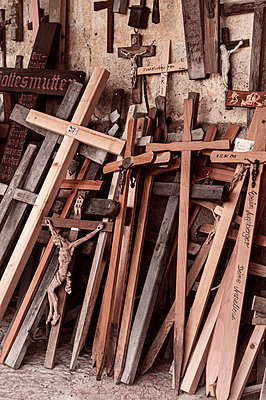 Catholic crosses and crucifixes  - p947m2209411 by Cristopher Civitillo