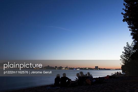 Sommer am Elbstrand - p1222m1162576 von Jérome Gerull
